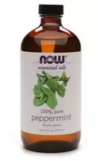 Now: 100% Pure Peppermint Oil (118ml)