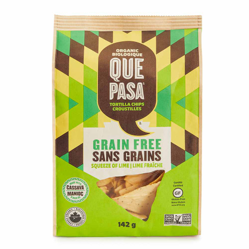 Que Pasa: Grain Free Tortilla Chips - Squeeze of Lime