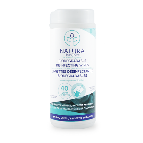 Natura Solutions: Disinfecting Wipes