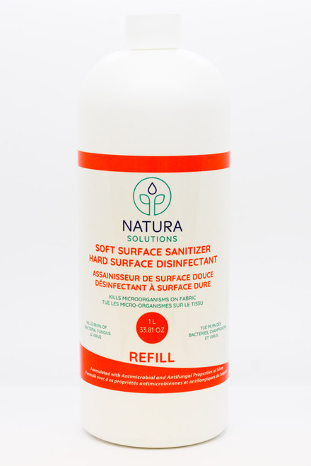 Natura Solutions: Soft Surface Sanitizer Refill