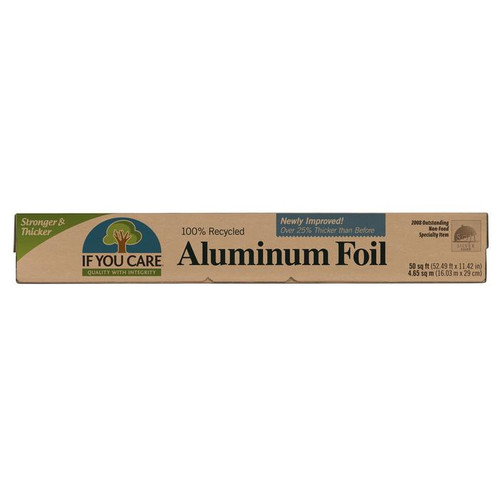 If You Care: Recycled Aluminum Foil