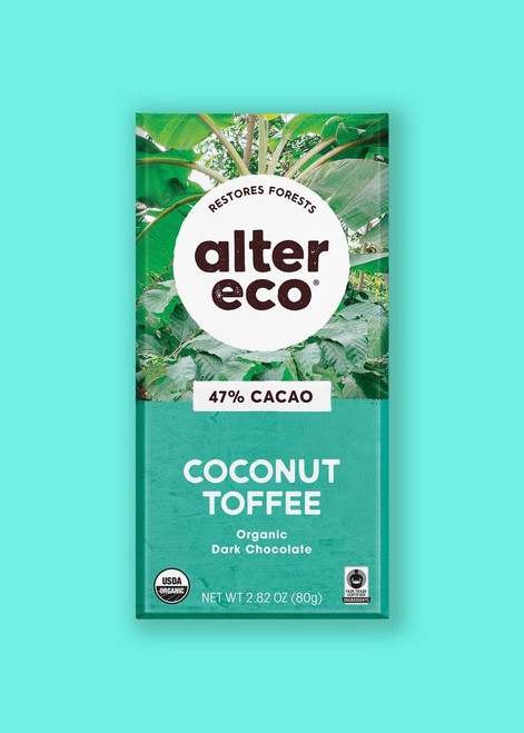 Alter Eco: Coconut Toffee (80g)