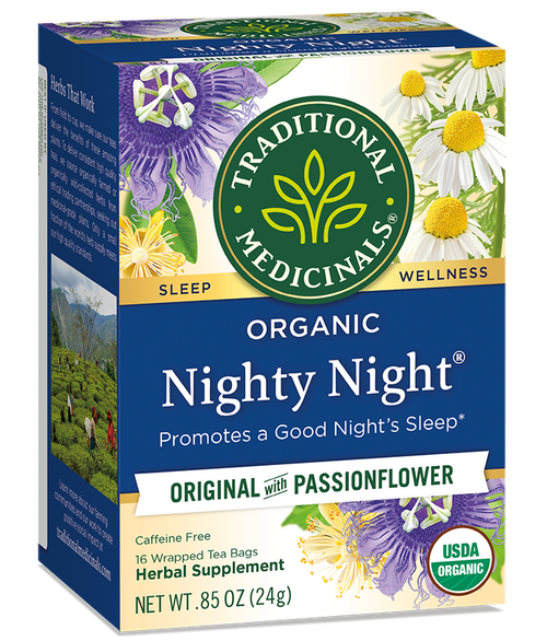 Traditional Medicinals: Nighty Night w/ Passionflower Tea