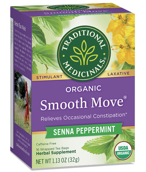 Traditional Medicinals: Smooth Move Peppermint Tea