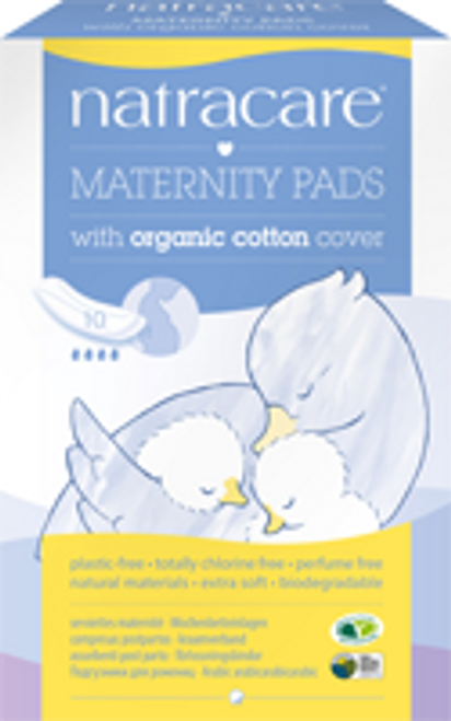 Natracare: Maternity Pads (10 Count)