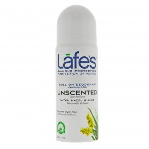 Lafe's: Roll-On Deodorant - Unscented (71g)