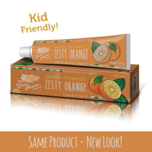 The Green Beaver Company: Zesty Orange Natural Toothpaste (75ml)