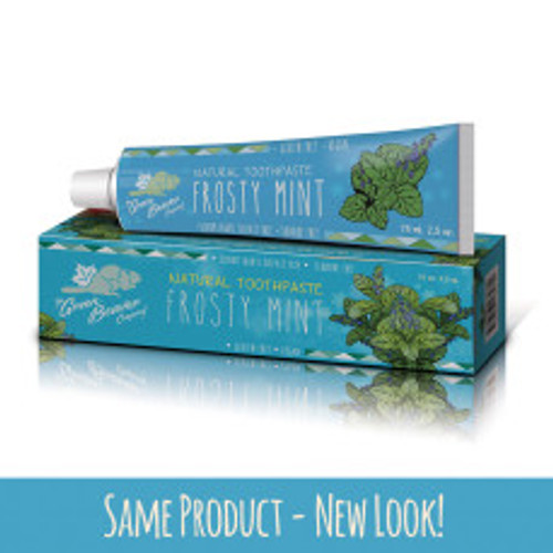 The Green Beaver Company: Frosty Mint Natural Toothpaste (75ml)