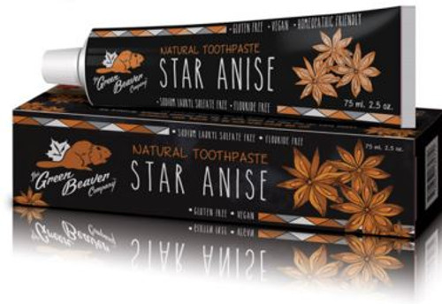 The Green Beaver Company: Star Anise Natural Toothpaste (75ml)