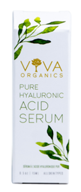 Viva Organics: Pure Hyaluronic Acid Serum (15ml)
