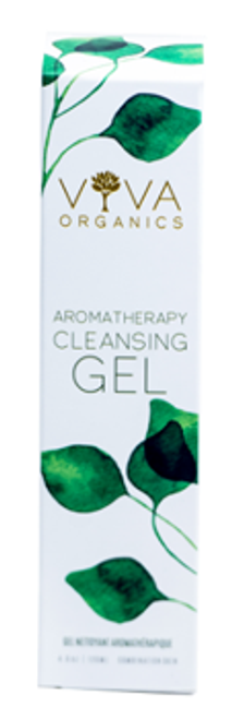 Viva Organics: Aromatherapy Cleansing Gel (120ml)