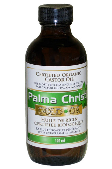 Palma Christi: Organic Gold Castor Oil (240ml)