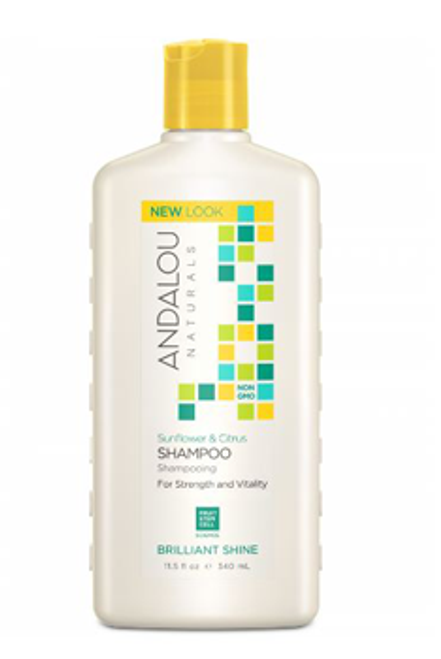 Andalou Naturals: Brilliant Shine Shampoo - Sunflower & Citrus (340ml)