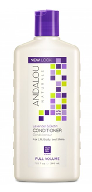 Andalou Naturals: Full Volume Conditioner - Lavender & Biotin (340ml)