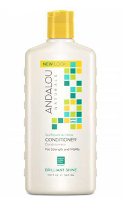 Andalou Naturals: Brilliant Shine Conditioner - Sunflower & Citrus (340ml)