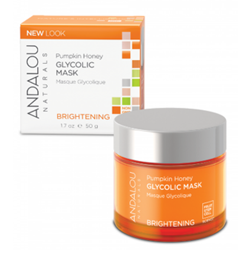 Andalou Naturals: Pumpkin Honey Brightening Glycolic Mask (50g)