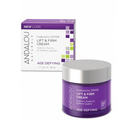Andalou Naturals: Age Defying Hyaluronic DMAE Lift &Firm Cream (50g)