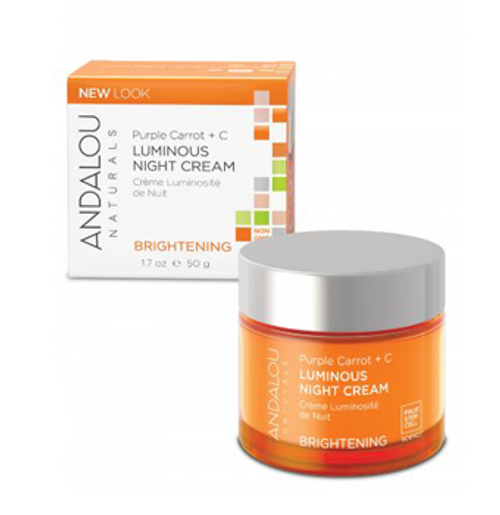 Andalou Naturals: Purple Carrot + C Luminous Night Cream (50ml)