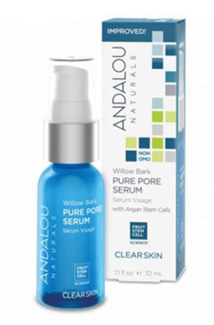 Andalou Naturals: Clear Skin Willow Bark Pure Pore Serum (32ml)