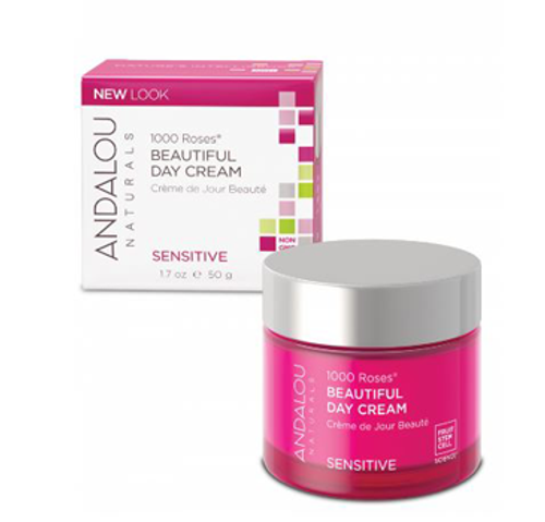 Andalou Naturals: 1000 Roses Beautiful Sensitive Day Cream (50g)