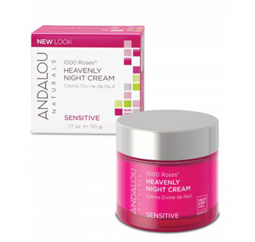 Andalou Naturals: 1000 Roses Heavenly Night Cream (50ml)