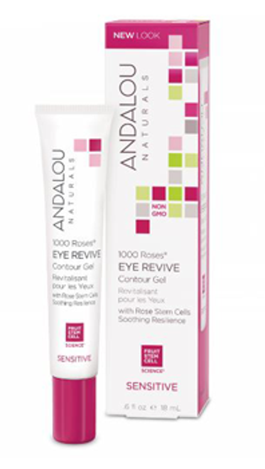 Andalou Naturals: 1000 Roses Eye Revive Contour Gel (18ml)