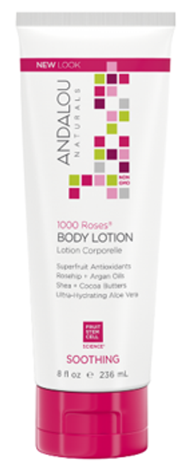 Andalou Naturals: 1000 Roses Soothing Body Lotion (236ml)