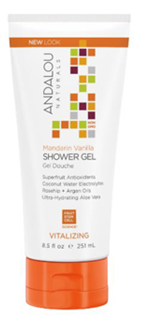 Andalou Naturals: Mandarin Vanilla Shower Gel (251 ml)