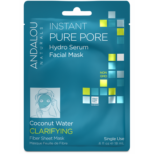 Andalou Naturals: Instant Pure Pore Hydro Serum Facial Mask (18ml)