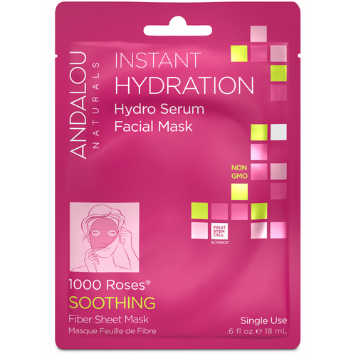 Andalou Naturals: Instant Hydration Hydro Serum Facial Mask (18ml)