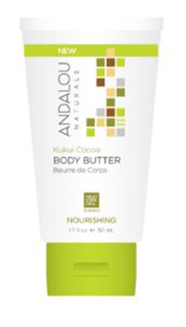Andalou Naturals: Kukui Cocoa Nourishing Body Butter (50ml)