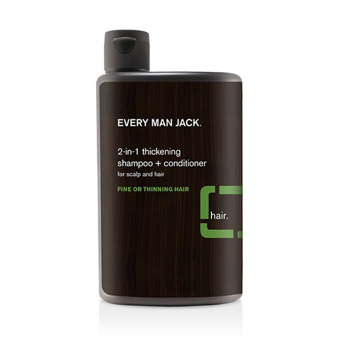 Every Man Jack: 2-In-1 Thickening Shampoo & Conditioner (400ml)