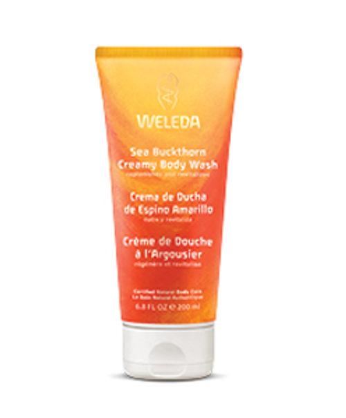 Weleda: Sea Buckthorn Creamy Body Wash (200ml)