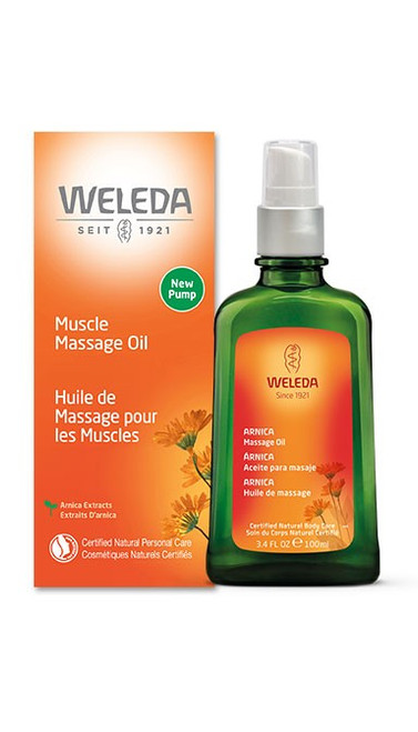 Weleda: Muscle Massage Oil (100ml)