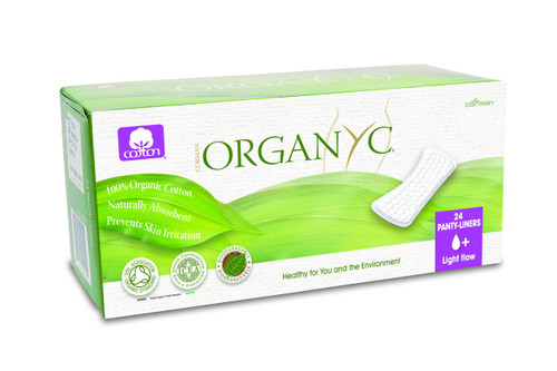 Organyc Ind.: Flat Pack Panty Liners - Light Flow (24 Units)