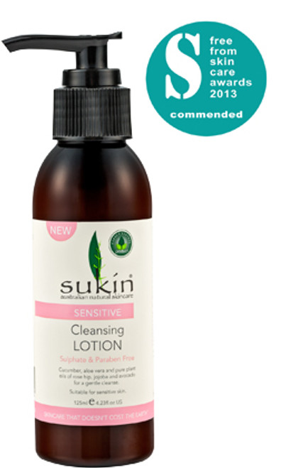 Sukin: Sensitive Cleansing Lotion (125ml)