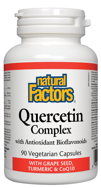 Natural Factors: Quercetin Complex (90 Vegetarian Capsules)