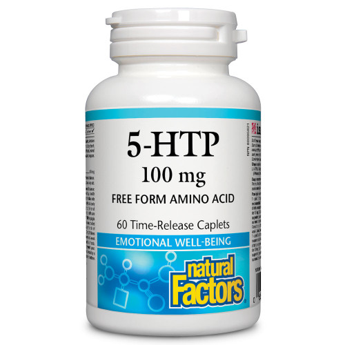 Natural Factors: 5-HTP (100mg) (60 Caplets)