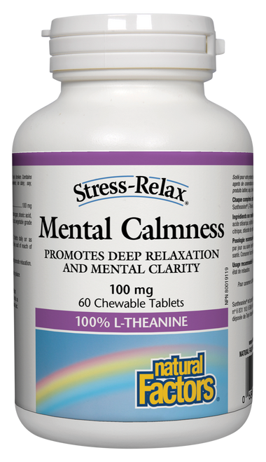 Natural Factors: Stress-Relax Mental Calmness (60 Chewables)
