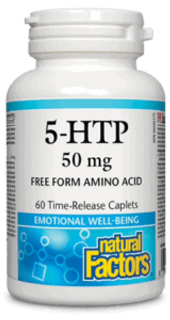 Natural Factors: 5-HTP (50mg)
