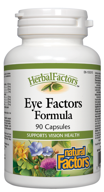 Natural Factors: Eye Factors (90 Capsules)