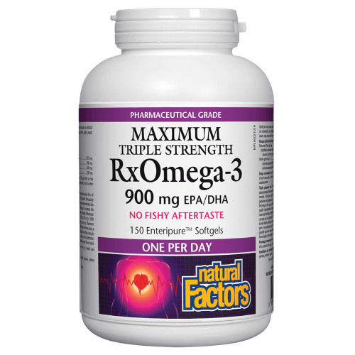 Natural Factors: Rx Omega-3 Triple Strength