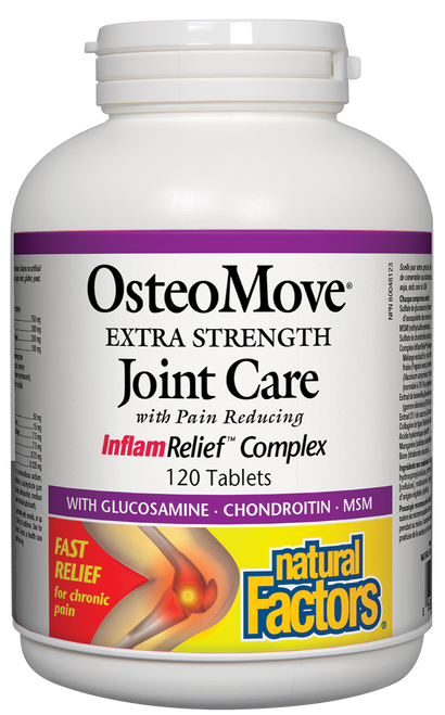 Natural Factors: OsteoMove Extra Strength Joint Care (120 Tablets)