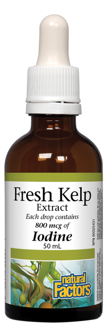 Natural Factors: Fresh Kelp Extract (50ml)