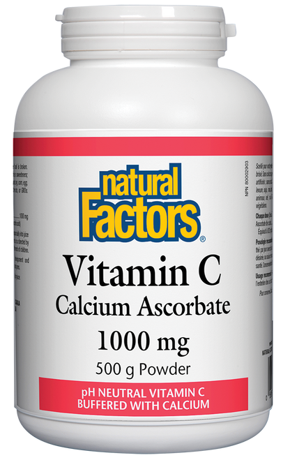 Natural Factors: Calcium Ascorbate Powder (500g)