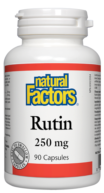 Natural Factors: Rutin (250mg) (90 Capsules)