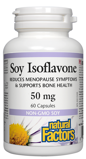Natural Factors: Soy Isoflavones (50mg) (60 Capsules)