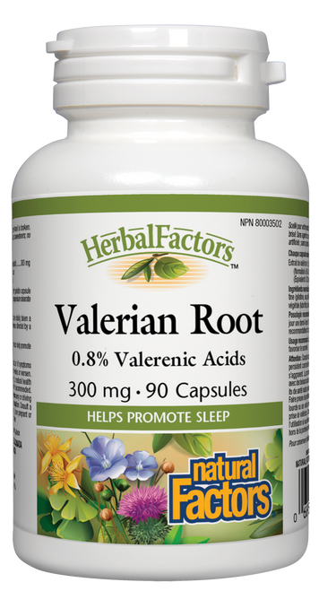 Natural Factors: Valerian Root Extract (300mg) (90 Capsules)