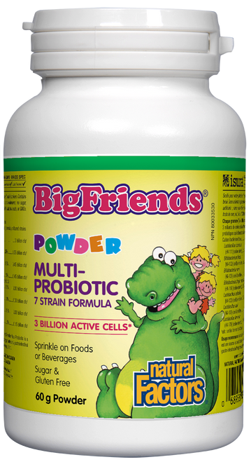 Natural Factors: Big Friends Multi Probiotic Powder