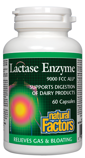 Natural Factors: Lactase Enzyme (60 Capsules)